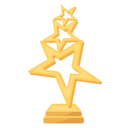 Star trophy icon